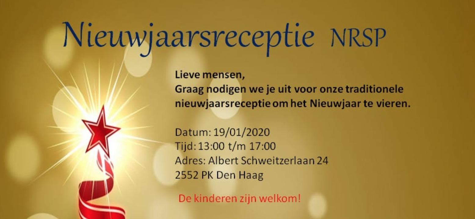 Nieuwjaarsreceptie NRSP
